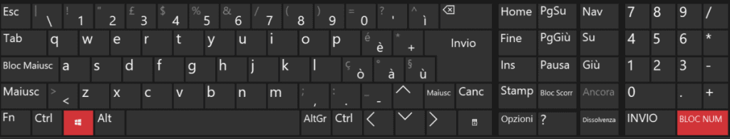 Special Characters Qwerty Keyboard