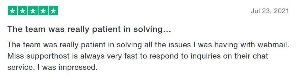 Godaddy Alternative Supporthost Review 1