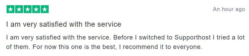 Godaddy Alternative Supporthost Review 5