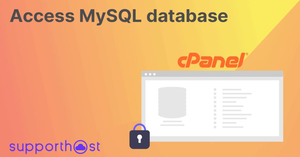Access Mysql Database