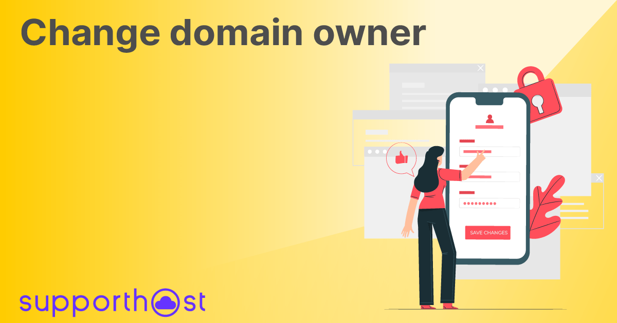 Change domain owner