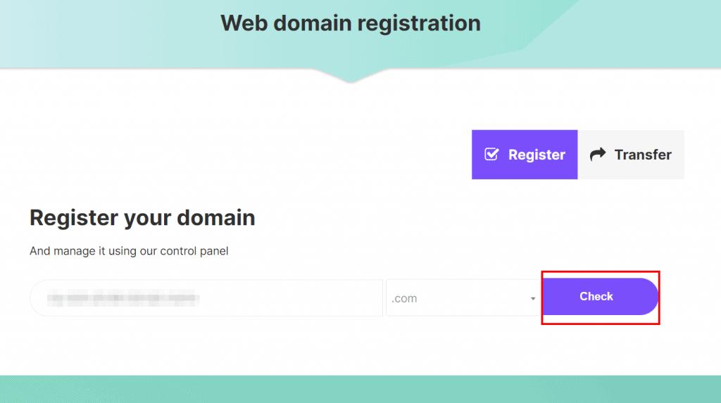 Check Domain