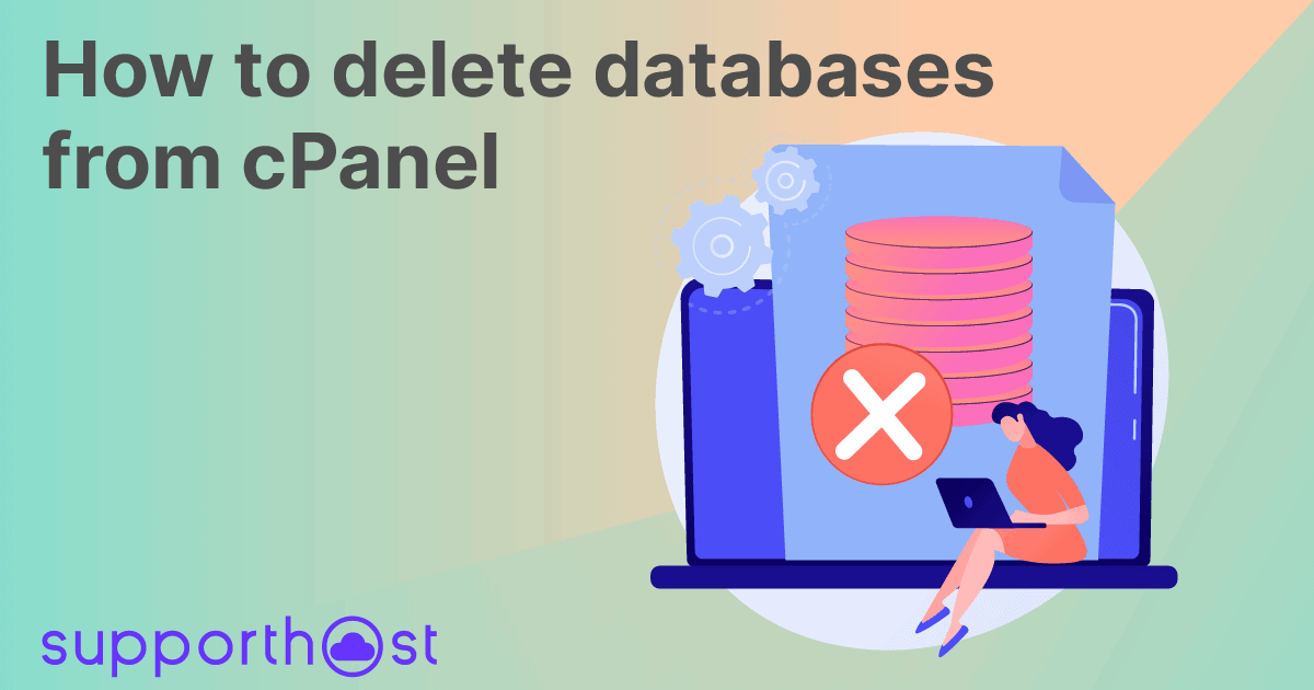 How to delete databases from cPanel