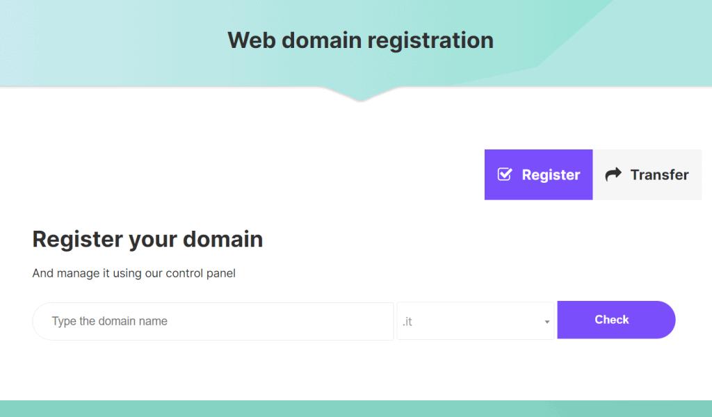 Domain Registration It Domain