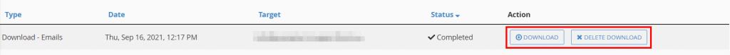Download Email Queue