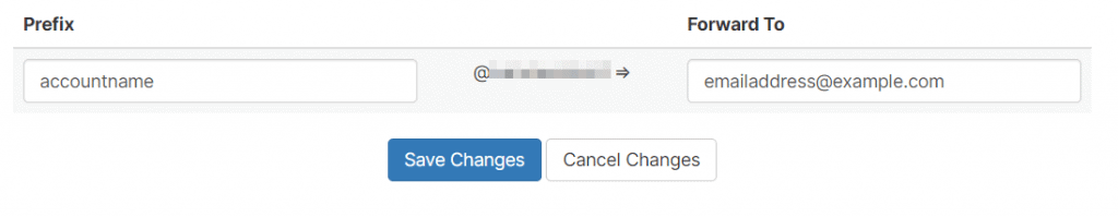 Forward Email Configuration