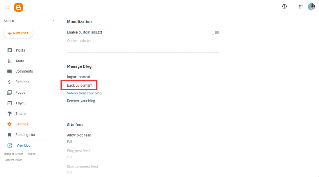 Migrate Blogger To WordPress Backup Content