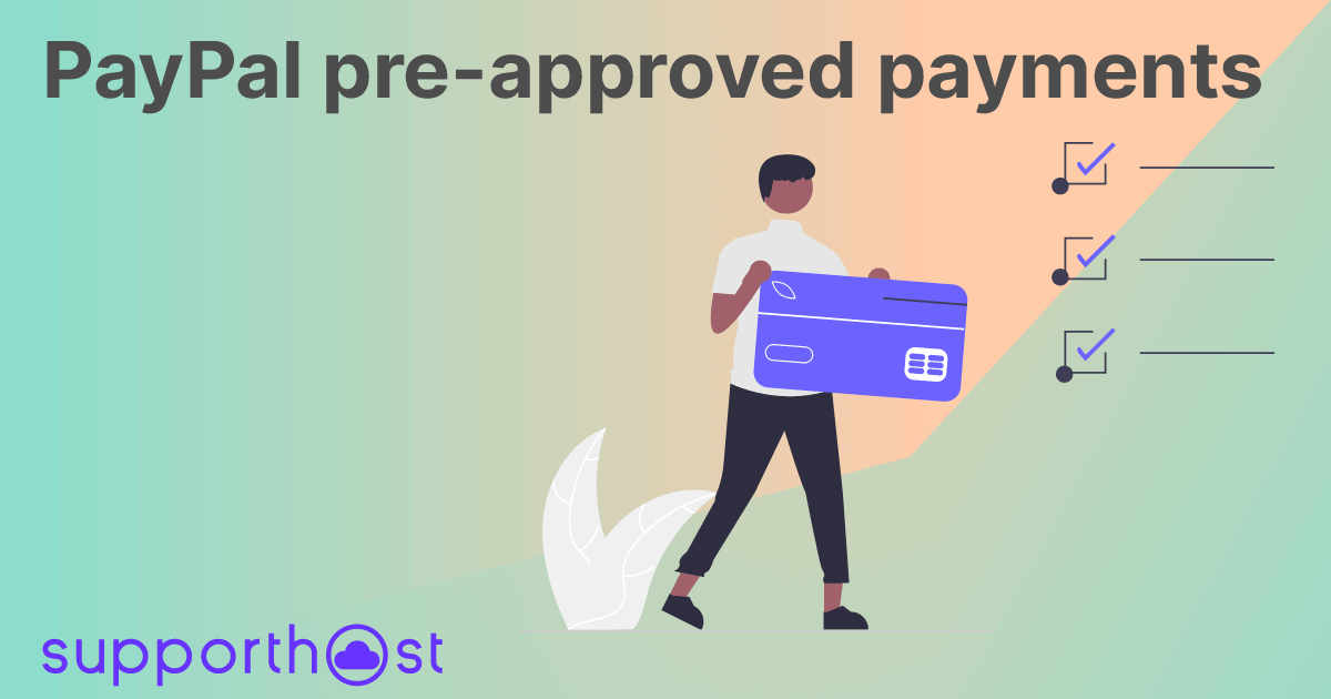 PayPal pre-approved payments