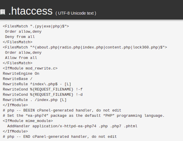 Wordpress Hacked Check Htaccess File