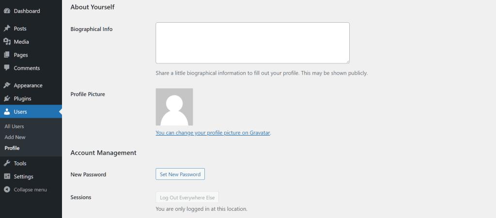 Wordpress Hacked Edit Wp Profile