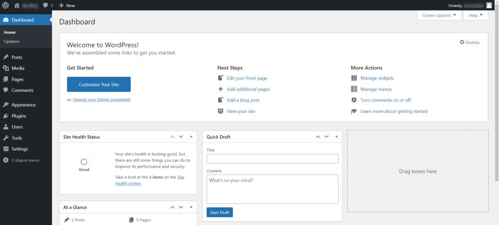 Wordpress Hacked Wp Dashboard