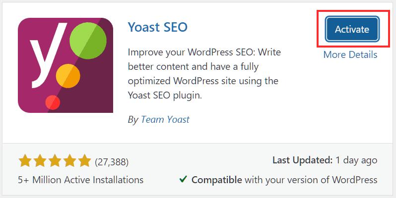 Wordpress Plugins Activate Plugin
