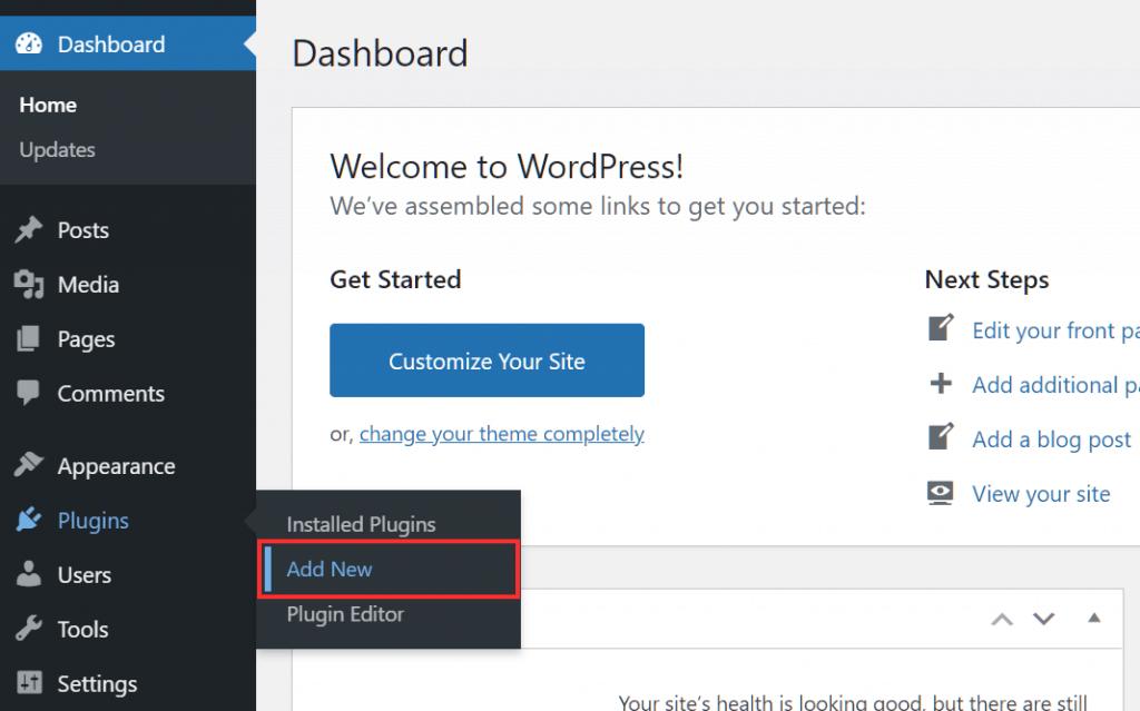 Wordpress Plugins Add New Plugin