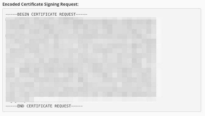 certificate signing request example