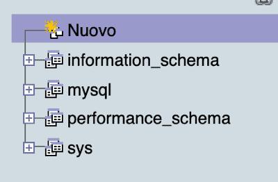 Phpmyadmin Aggiungi Nuovo Database