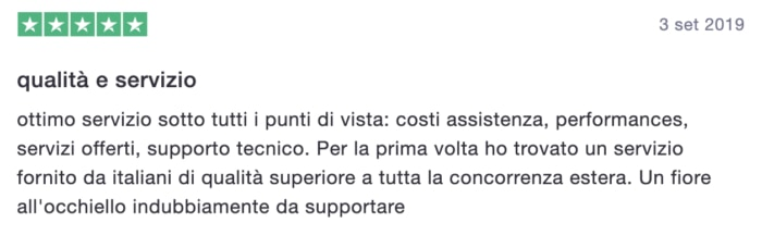 Recensione Supporthost 2