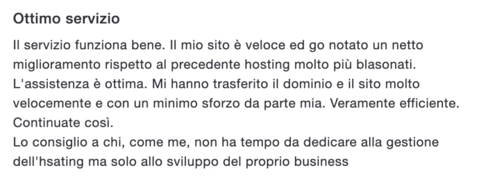 Recensione Supporthost 3