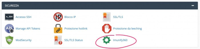 SupportHost Imunify360